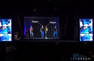Experience and Professionalism  EyeDream 3D Holographic Projections